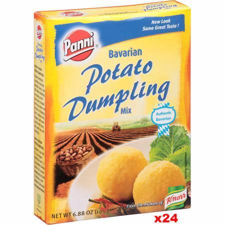 Panni Dumpling (Potato Dumpling Mix (Panni) CASE (24 x 195g) )