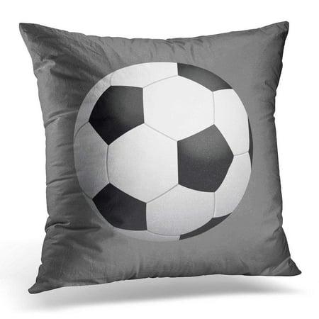 BPBOP Football Soccer Ball Sports Game Goal Pillowcase Cushion Cover 20x20 inches