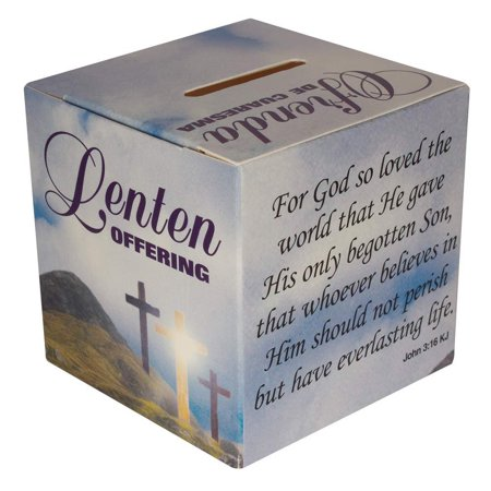 English Spanish Lenten Offering Box Easter Fundraising Box Cardboard Pack of 50 Boxes