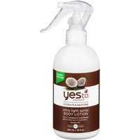 Yes To Coconut Hydrate & Restore Ultra Light Spray Body Lotion 10 Oz