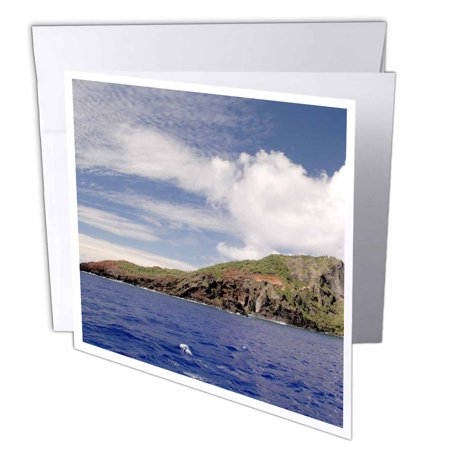 3dRose South Pacific, Pitcairn Island - SA17 CMI0245 - Cindy Miller Hopkins, Greeting Cards, 6 x 6 inches, set of 6