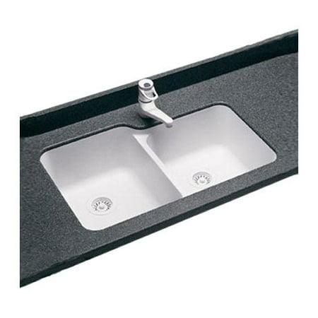 Swanstone Sinks : ... Swanstone Classics 33 x 21.25 Undermount Double Bowl ...