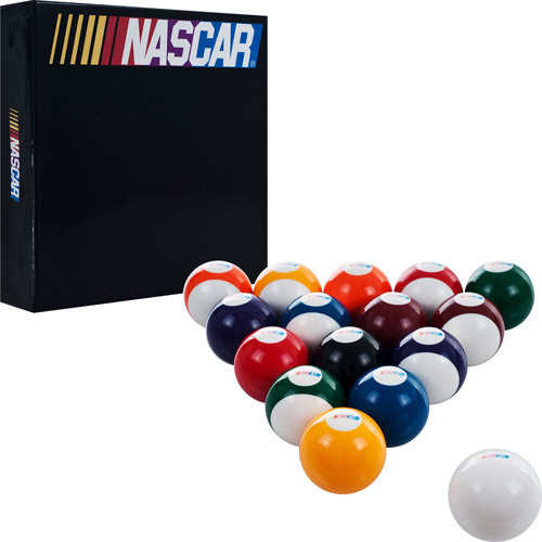 NASCAR Billiard Balls, Set of 16
