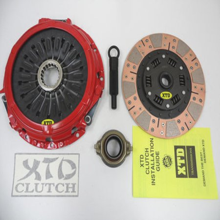 XTD PRO STAGE 3 DUAL FRICTION CLUTCH KIT LANCER EVO EVOLUTION 8 VIII 9 (Evo Ix)