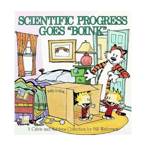 "Scientific Progress Goes ""Boink"": A Calvin and Hobbes Collection"