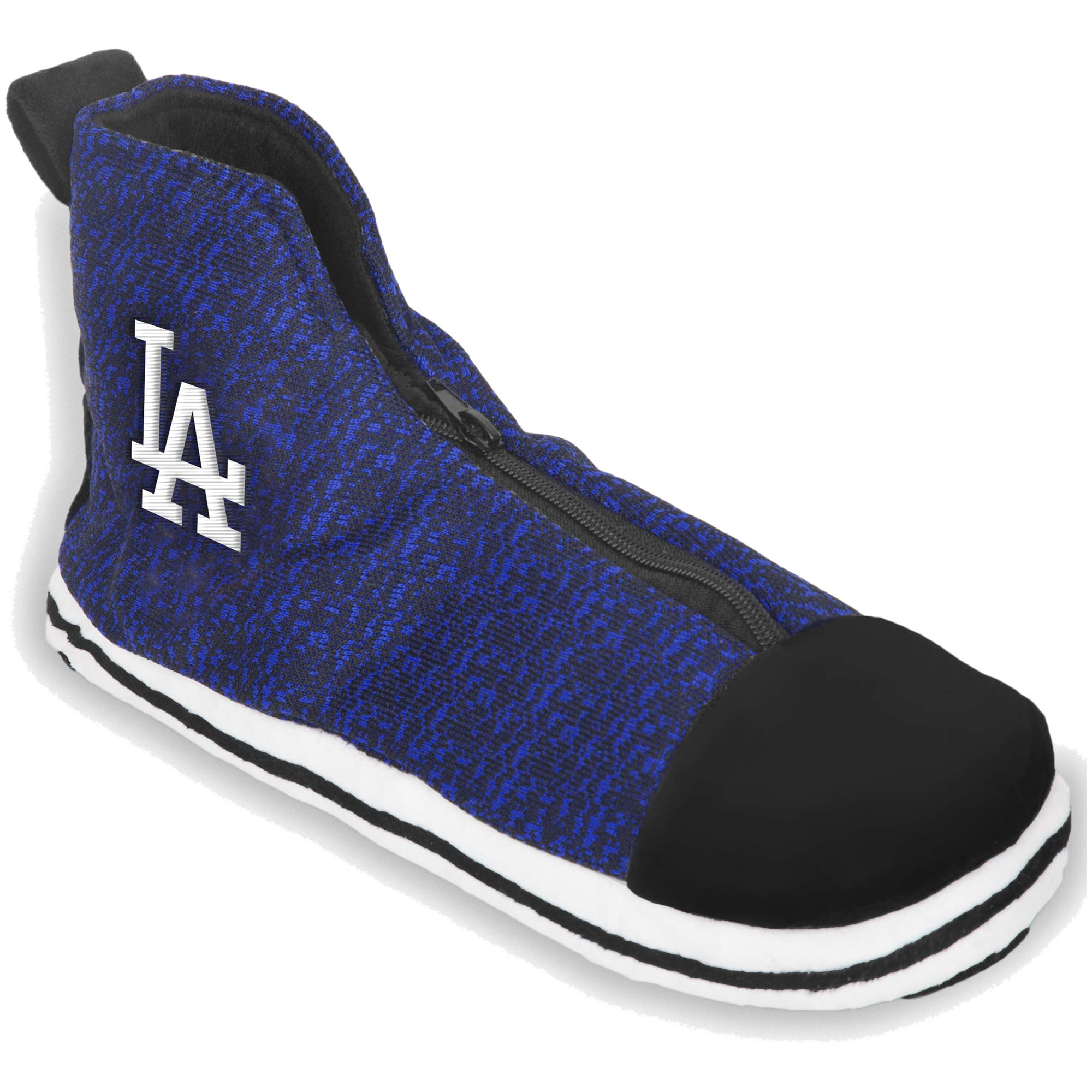 Los Angeles Dodgers Knit High Top Sneaker Slippers