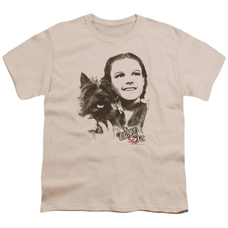 Wizard Of Oz Dorothy & Toto Big Boys Youth Shirt (Toto From Wizard Of Oz)