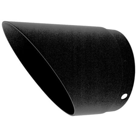 Slash Cut End Cap - SuperTrapp 108-8052 End Cap - Black - Slash Cut