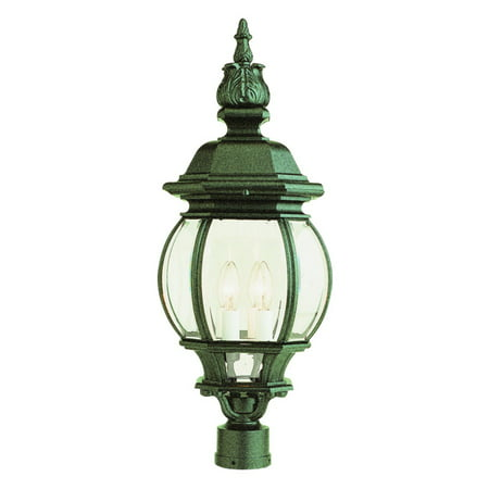 - Bel Air Bayville Outdoor Post Lantern - 28H in.