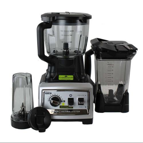 Sensational Ninja Ultima Kitchen System Bl820 3 Hp 72 Oz 1500 Watt Blender Mixer Processor Refurbished Home Interior And Landscaping Mentranervesignezvosmurscom