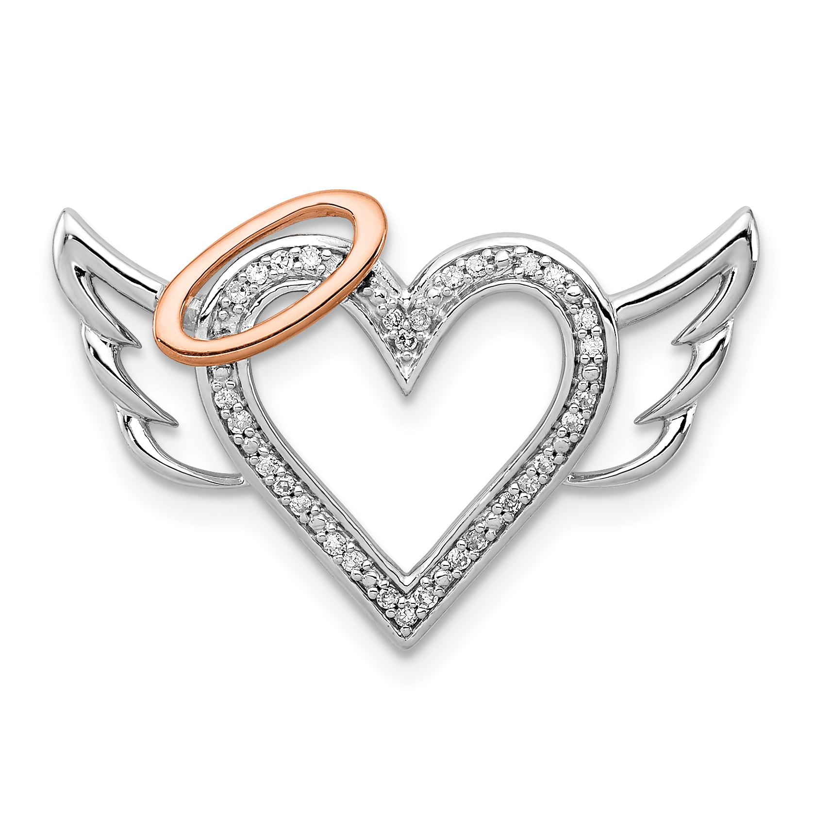 Rose Gold Color Galaxy 925 Sterling Silver Charm