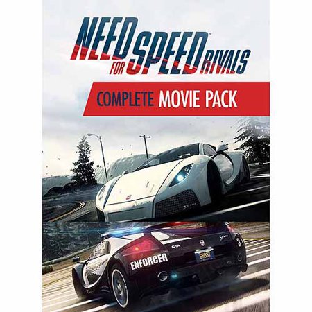 Electronic Arts Need For Speed: Rivals Movie Cars Cop/Racer Bundle Expansion Pack (Digital Code)