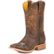 Tin Haul Western Boots Mens Mudflap Too Brown 14-020-0007-0214 BR