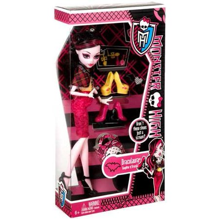 Monster High Shoe Collection Draculaura 10.5
