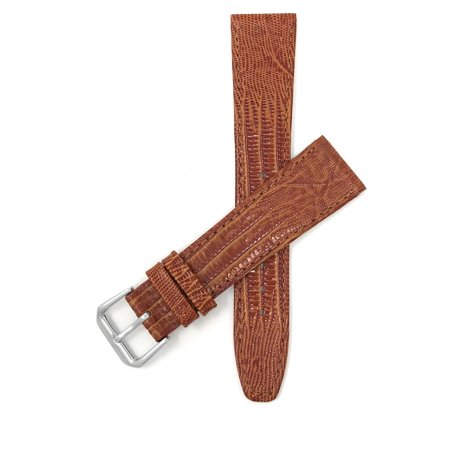 20mm Womens', Slim, Lizard Style, Leather Watch Band Strap - image 7 of 7