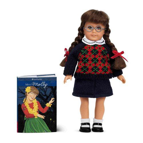 American Girl Molly Mini Doll with Mini Book