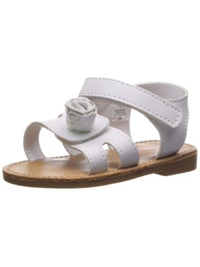 1f56e1dd0b7 White Girls Sandals   Flip Flops - Walmart.com