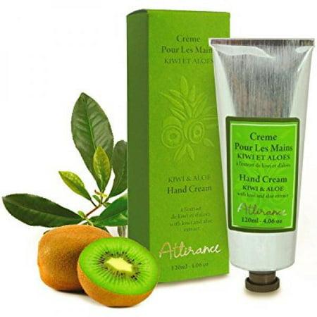 Attirance - crème pour les mains - kiwi et aloès - 4 oz - avec tout naturel extrait d'aloès, kiwi et extrait d'arnica
