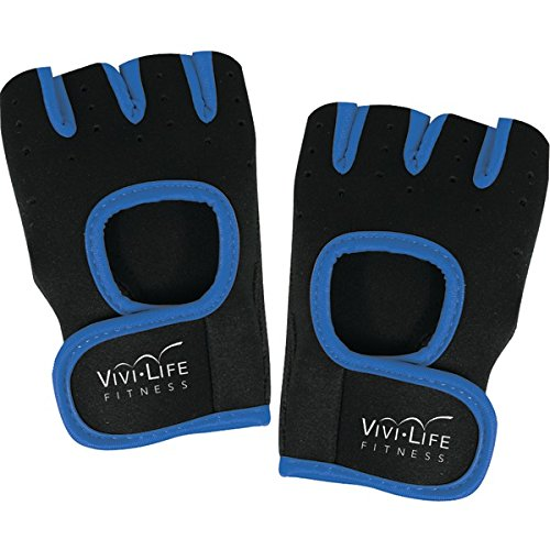 Vivi Life Pf-v8310-blu Workout Gloves [blue]