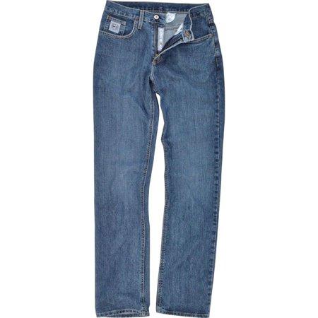 Cinch Apparel Mens  Silver Label Slim Fit Dark Stonewash Jeans