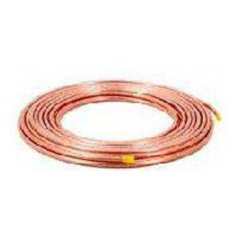 "Cardel 12039 Refrigeration Copper Tubing 1/4"" X 20'"
