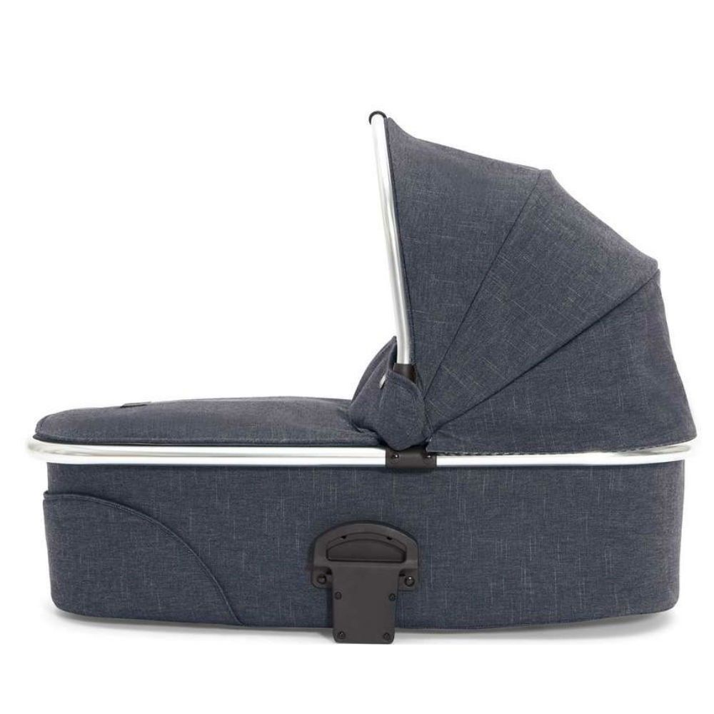 Mamas and Papas Sola Carrycot  Blue Denim