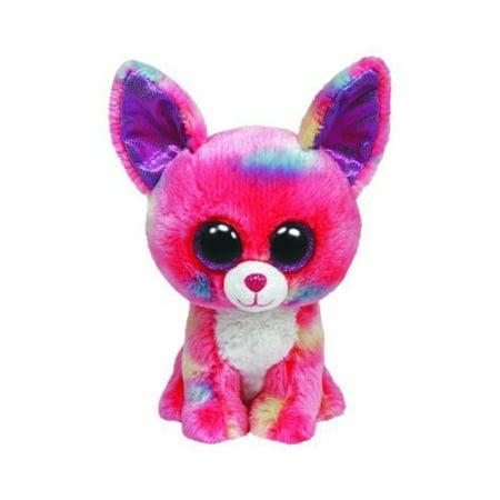 Ty Beanie Boos Cancun Chihuahua Dog Glitter Eyes Small 6 Plush