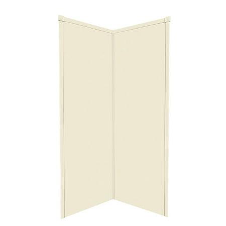 Transolid 2 Piece Corner Shower Wall Kit