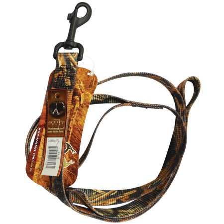 Realtree Max 4 2448M472 Adjustable Pet Lead  72 In Belt  Camouflage