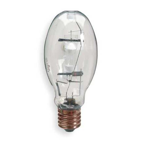 GE LIGHTING Quartz Metal Halide Lamp,ED28,250W MVR250/U