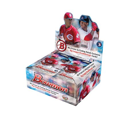 2004 Bowman Sterling Baseball - 2018 Bowman Baseball Factory Sealed Display Box