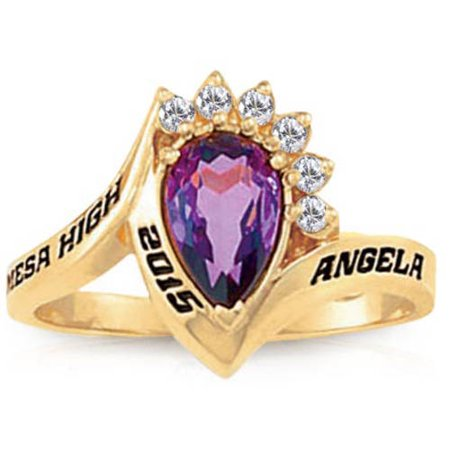 Keepsake Girls Princess Fashion Class Ring