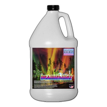 Professional Haze Machine (Beam Splitter - Professional Water Based Haze Juice - Premium Haze Machine Fluid - 1 Gallon )
