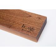 Heavy Duty Knife Holder, Walnut Wood Magnetic Knife Bar, Knife Storage Strip 18
