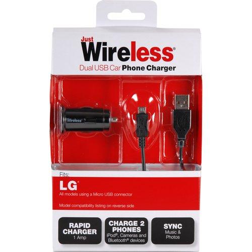 Best Case Premium Lg Dual Usb Car Charger Walmart Com
