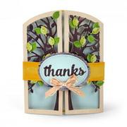Sizzix Thinlits Die Set 15PK Gatefold Card Tree by Lori Whitlock