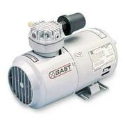 GAST 1HAB-44-M100X Piston Air Compressor,1/6HP,115V,1Ph