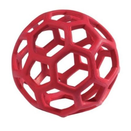JW Hol-ee Roller Size:Large Packs:Pack of 2, Natural rubber chew toy By JW