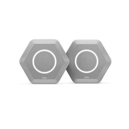 Luma Home WiFi System (Gray 2 Pack) - Replaces WiFi Extenders and Routers, Simultaneous Dual Band 2.4/5GHz, Parental Controls/Security, Gigabit Speed, WPA/WPA2 Encryption 888g Shdsl Security Router