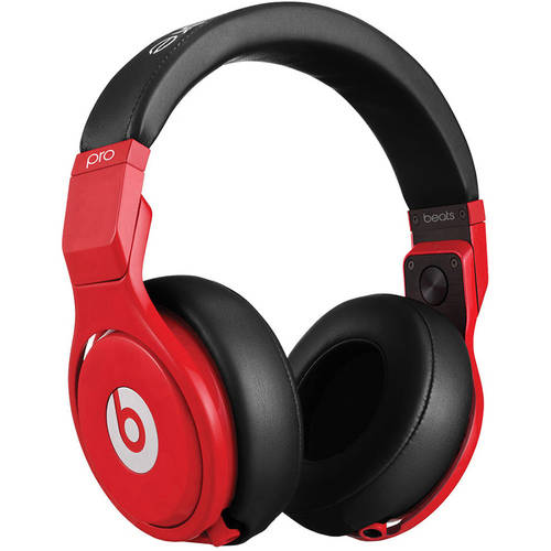 Beats by Dr. Dre Pro Over-Ear Headphones, Red Black by Beats by Dr. Dre