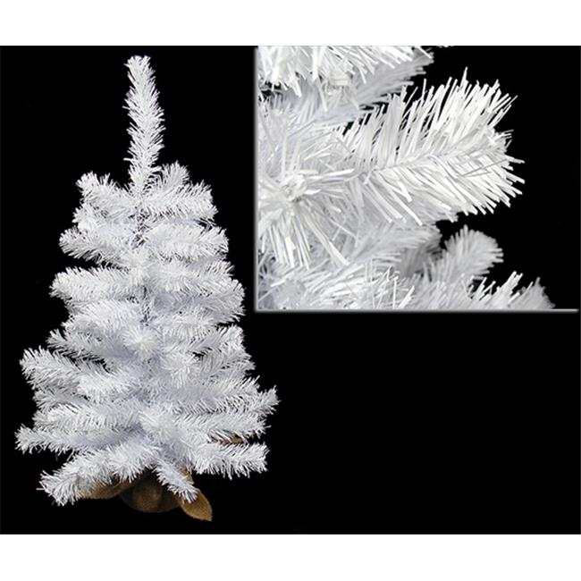 NorthLight 2 ft.  White Canadian Pine Artificial Christmas Tree - Unlit