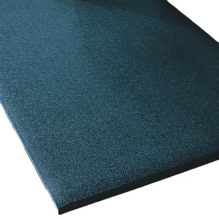 48 Wide Rhino Mats Comfort Step Textured Anti Fatigue Mat Black 5 8 T