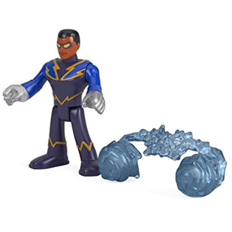 Imaginext Dc Super Friends Series 4 Black Lightning Foil Pack Walmart Com Walmart Com
