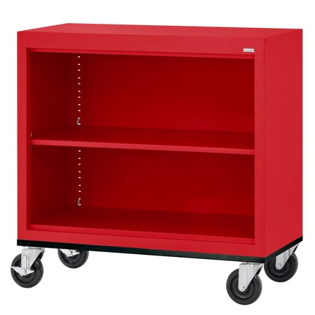 Elite Series Welded Mobile Bookcase
