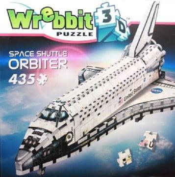 Wrebbit 3D: Space Shuttle Orbiter Foam Puzzle (435pcs) by