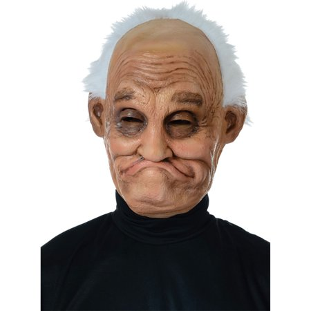 Morris Costumes Old Man Pappy Latex Mask One Size, Style MR131133 (Old Man Prosthetic Mask)