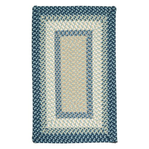 Colonial Mills Montego Indoor/Outdoor Area Rug - Blue Burst