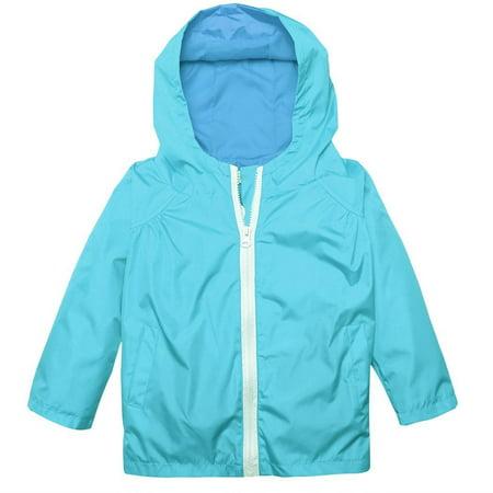 679b1e5513d1 Arshiner Girl Baby Kid Waterproof Hooded Coat Jacket Outwear ...