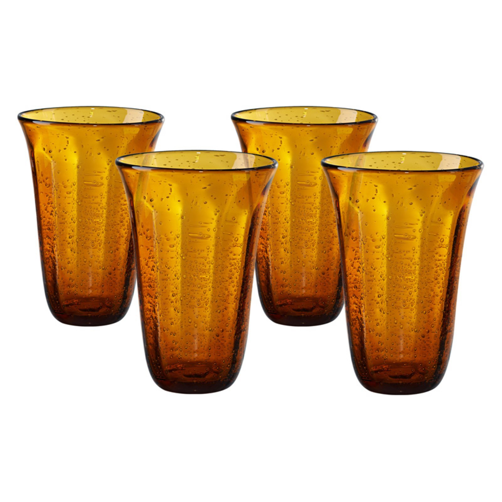 Artland Savannah Bubble Highball Glass - Set of 4
