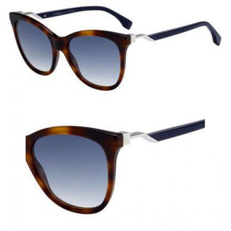 Sunglasses Fendi Ff 200 /S 0IPR Havana Blue / 08 dark blue gradient lens